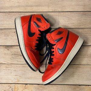 David Letterman Nike Jordan 1's